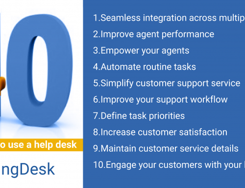 10 reasons to use a help desk