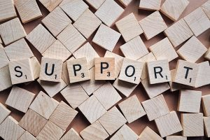 Integrated support