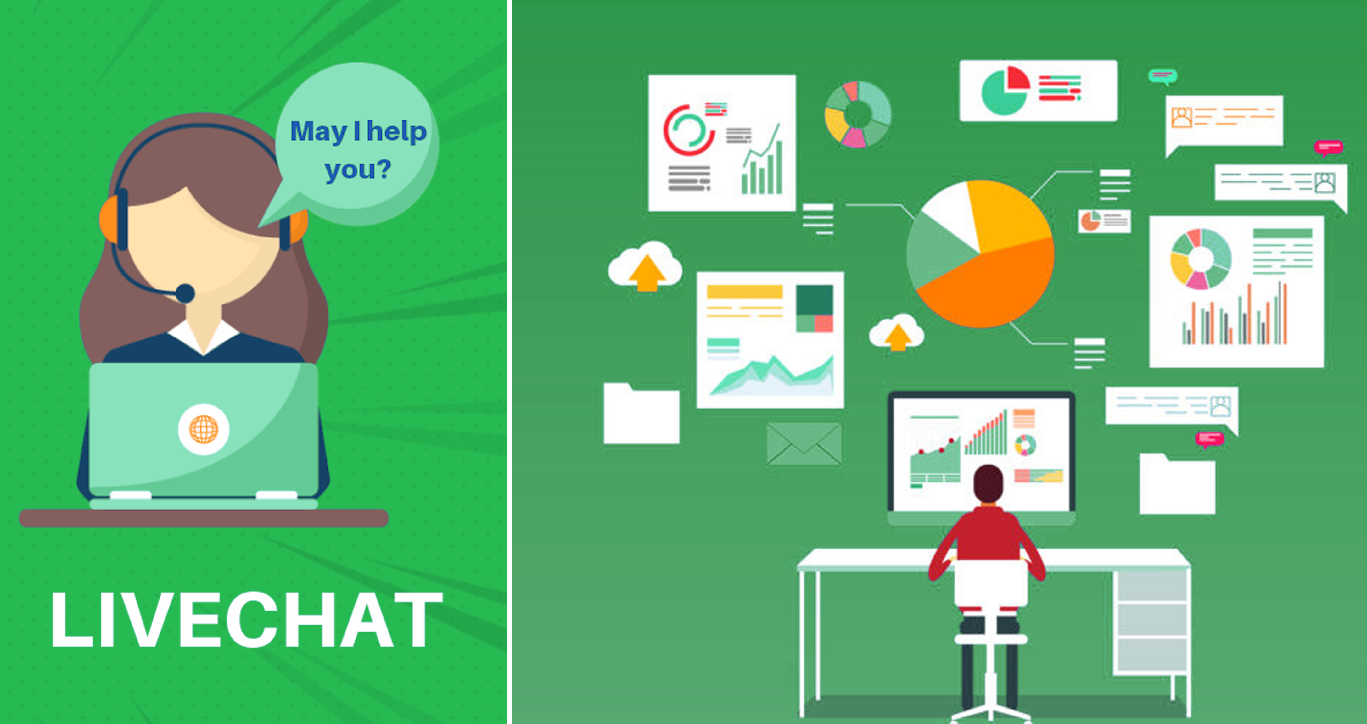 live chat crm